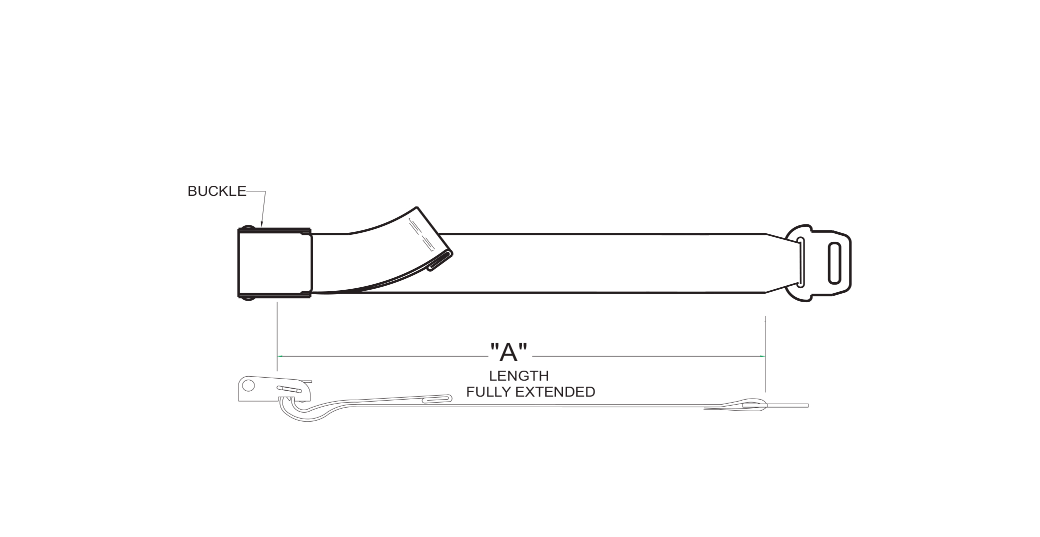 Extension Belt Drawing